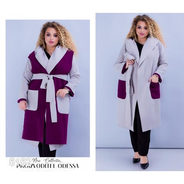 Пальто+жилетка №5152