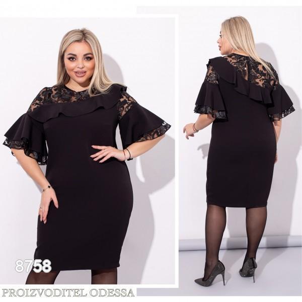 Платье №8758